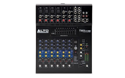 Alto EMPIRE TMX80 DFX 8-Channel Powered Mixer With Effects - Audiofeen