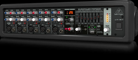 Behringer EUROPOWER PMP550M - 5-channel powered mixer - Audiofeen