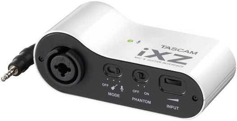 Tascam  IXZ AUDIO INTERFACE ADAPTOR FOR IPAD, IPHONE, IPOD - Audiofeen