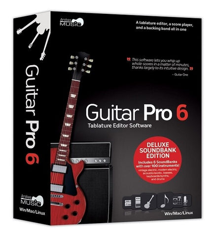 Arobas Music Guitar Pro 6.0 - Deluxe Soundbank Edition - Audiofeen