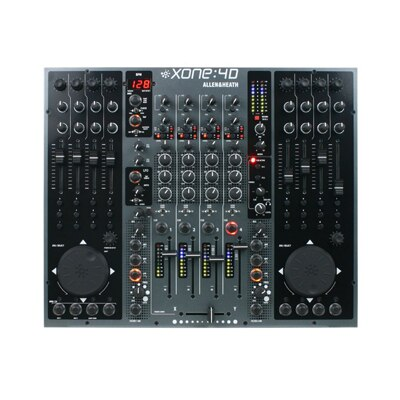 Allen and Heath Xone 4D 20 Channel USB Audio Interface DJ Mixer - Audiofeen