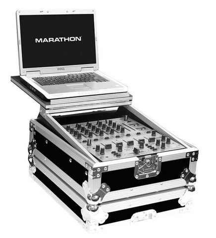 Marathon MA-12MIXLT Professional Mixer Case with Laptop Stand - Audiofeen