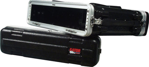 Gator Cases 2 Space Shallow Audio Rack Case - Audiofeen