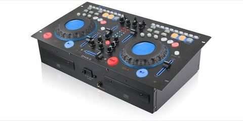 Technical Pro DMX2 Rackmountable Double Cd Mixer - Audiofeen
