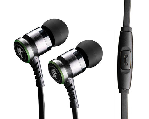 Mackie CR-BUDS High Performance Earphones with Mic and Control - Audiofeen