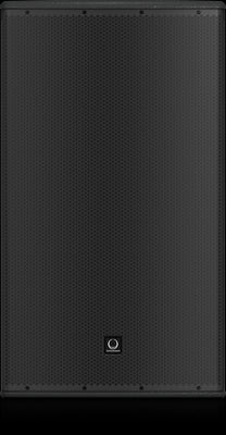 Turbosound TCS152-94-AN Arrayable Powered 2500 Watt 2 Way 15'' Loudspeaker with Dendritic Waveguide, KLARK TEKNIK DSP Technology and ULTRANET Networking 90°x40° dispersion - Audiofeen