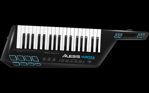 ALESIS VORTEX WIRELESS USB-MIDI Wireless Keytar Controller with Accelerometer - Audiofeen