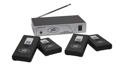 Peavey 3010620 Assisted Listening Sys. 72.1 MHz - Audiofeen