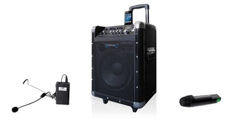 Technical Pro WASP1000 Portable PA System - Audiofeen