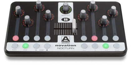 Novation Nocturn USB Midi Controller for Plug-ins - Audiofeen