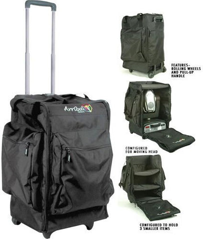 Arriba AC-165 Lighting Bag with Wheels and Handle - Audiofeen