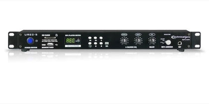 Technical Pro UREC5 Professional Rack Mountable USB-SD Recording Deck - Audiofeen