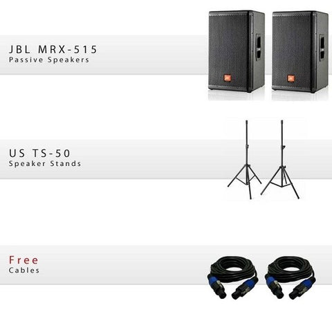 JBL MRX 515 Package - Audiofeen
