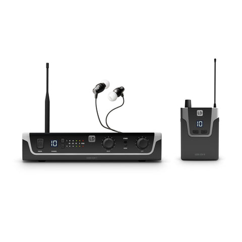 LD Systems LDS-U3047IEMHP - In-Ear Monitoring System with Earphones, 470 - 490 MHz - Audiofeen