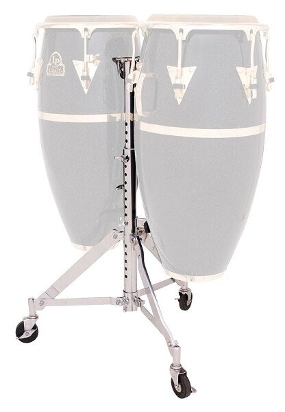 Latin Percussion Slide Mount Double Conga Stand - Audiofeen