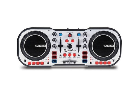 DJ-Tech DJ For All USB Controller and Software Package - Audiofeen