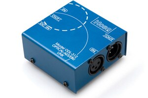 Hosa ODL-312 Digital Audio Interface - S-PDIF Optical to AES-EBU - Audiofeen