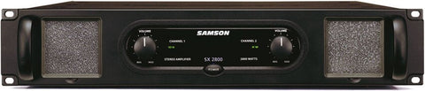 Samson SX2800 Rackmount Power Amplifier - Audiofeen