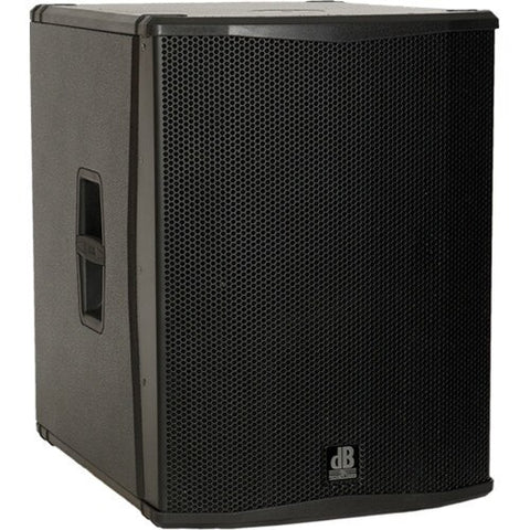 "db Technologies SUB 18H Semi Horn-Loaded Active Class-D Subwoofer (18"", Black) - Audiofeen"