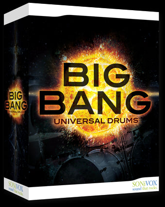 SONiVOX Big Bang - Universal Drums - Audiofeen