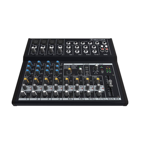 Mackie Mix12FX 12-Channel Compact Mixer with Effects - Audiofeen