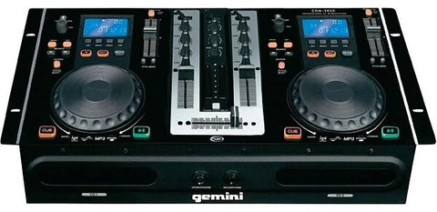 Gemini CDM-3650 MP3-CD Mixing Console - Audiofeen