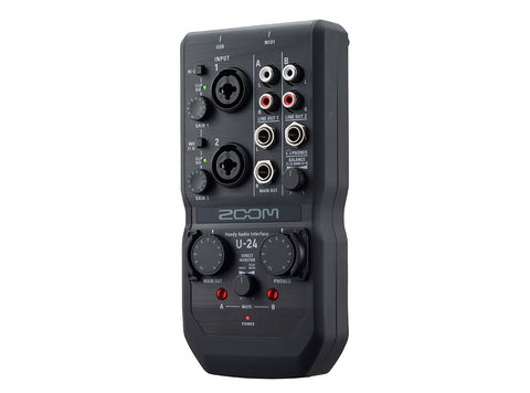 Zoom U-24 - Handy Audio Interface - Audiofeen