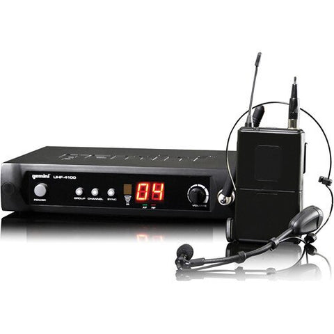 Gemini UHF-4100HL Wireless Microphone System - Audiofeen