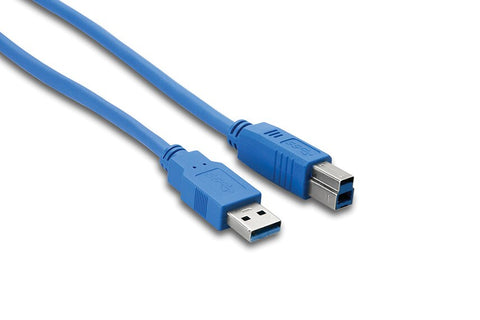 Hosa SuperSpeed USB 3.0 Cable  Type A to Type B - Audiofeen