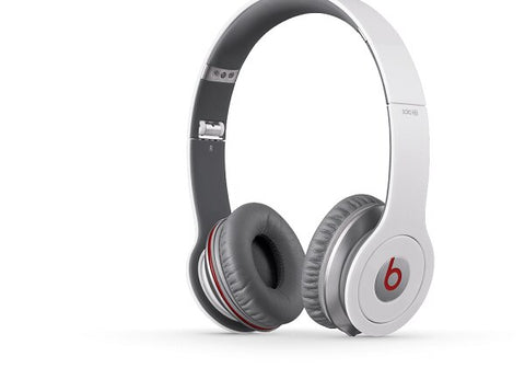 Beats by Dr. Dre Beats Solo HD On-Ear Headphones - White - Audiofeen