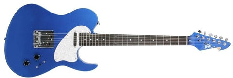 Peavey Riptide Series Gulfcoast Blue Electric Guitar - Audiofeen