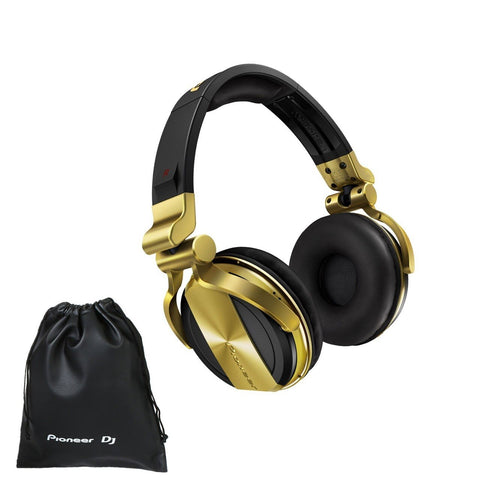 Pioneer HDJ-1500-N Professional DJ Headphones In Gold - Audiofeen