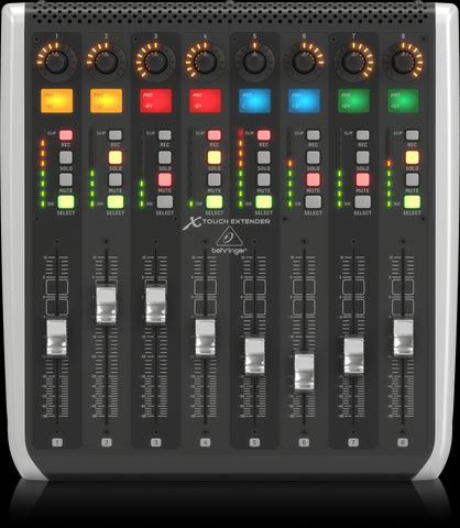 Behringer X TOUCH EXTENDER with 8 Touch-Sensitive Motor Faders - Audiofeen