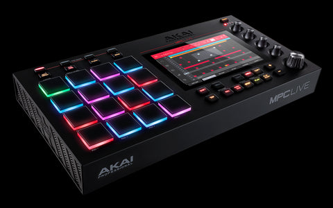 Akai MPCLIVEXUS MPC Live Standalone Music Production Center - Audiofeen