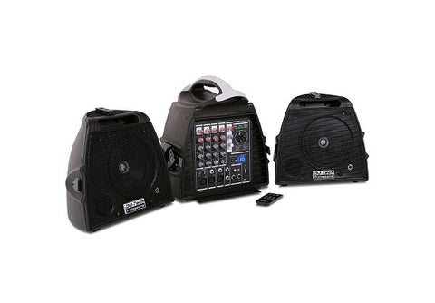 DJ Tech Visa 200 Light Portable Pa Systems - Audiofeen