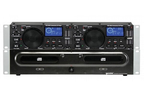 Gemini CDX-2250 Professional 2U Rackmount CD Player - Audiofeen