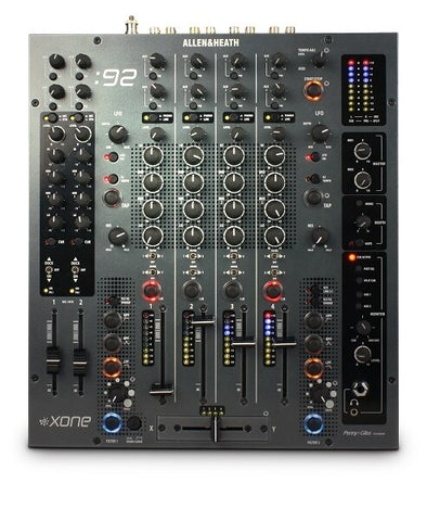 Allen and Heath Xone 92 Rotary Professional 6 Channel Club-DJ Mixer - Audiofeen