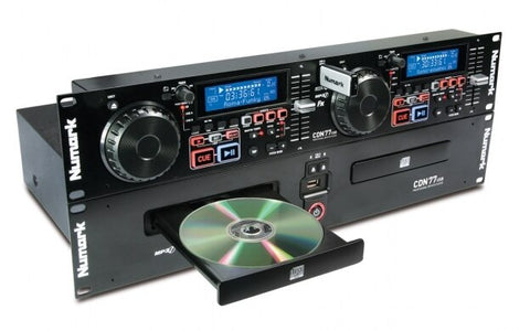 Numark CDN77USBX110 - Professional Dual USB and MP3 CD player - Audiofeen
