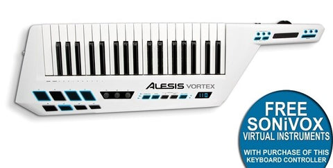 Alesis Vortex USB-MIDI Keytar Controller with Accelerometer - Audiofeen