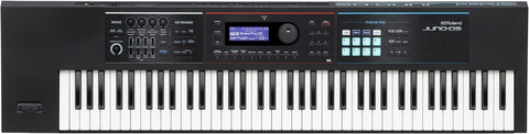 Roland Professional A-V JUNO-DS76 - Gig-ready 76-note keyboard with pro sounds, enhanced performance features, and battery-powered operation - Audiofeen