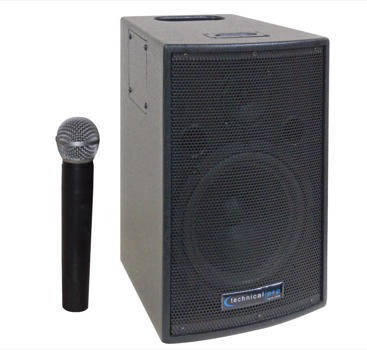 Technical Pro Wasp 500 Portable PA System - Audiofeen