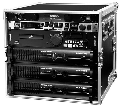 Marathon MA-10UAD Professional Amplifier Rack - Audiofeen