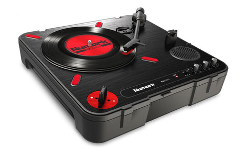 Numark PT01 Scratch Portable Turntable with DJ Scratch Switch - Audiofeen