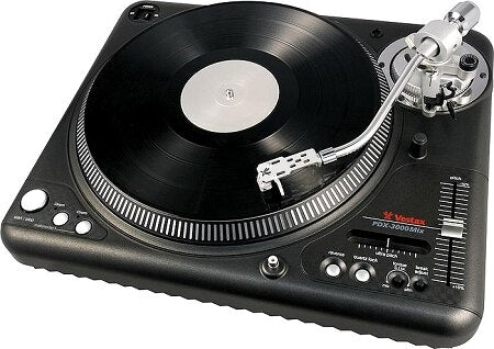 Vestax PDX3000 Mix Direct-Drive Turntable with S-Shaped Tone Arm - Audiofeen