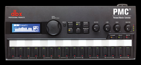 DMX PMC16 16-Channel Personal Monitor Controller - Audiofeen