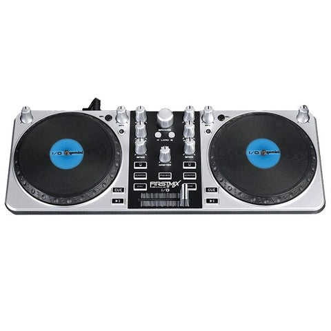 Gemini FirstMix I-O USB DJ MIDI Controller with Soundcard - Audiofeen