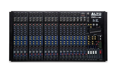 Alto ZEPHYR ZMX244FXU 24-Channel Compact Mixer with Effects and USB Interface - Audiofeen