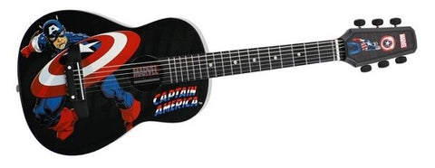 Peavey Marvel Captain America 1-2 Size Acoustic Guitar - Audiofeen