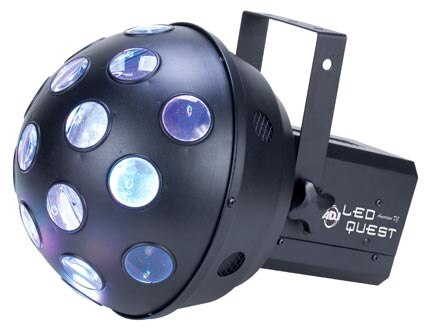 American DJ LED Quest Rotating Club Light - Audiofeen
