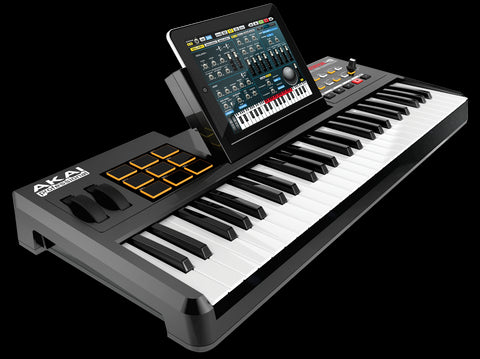 Akai SynthStation49 Keyboard Controller for iPad - Audiofeen